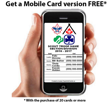 Mobile Card FREE